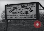 Image of Jim Crow law signs Richmond Virginia USA, 1939, second 53 stock footage video 65675032239