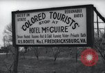 Image of Jim Crow law signs Richmond Virginia USA, 1939, second 59 stock footage video 65675032239