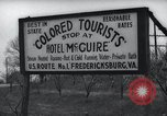Image of Jim Crow law signs Richmond Virginia USA, 1939, second 61 stock footage video 65675032239