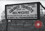 Image of Jim Crow law signs Richmond Virginia USA, 1939, second 62 stock footage video 65675032239