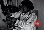 Image of African American artist Augusta Savage United States USA, 1937, second 5 stock footage video 65675032252