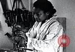 Image of African American artist Augusta Savage United States USA, 1937, second 6 stock footage video 65675032252