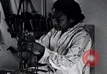 Image of African American artist Augusta Savage United States USA, 1937, second 8 stock footage video 65675032252