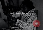 Image of African American artist Augusta Savage United States USA, 1937, second 9 stock footage video 65675032252