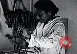 Image of African American artist Augusta Savage United States USA, 1937, second 13 stock footage video 65675032252