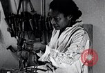Image of African American artist Augusta Savage United States USA, 1937, second 15 stock footage video 65675032252