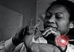 Image of African American artist Augusta Savage United States USA, 1937, second 20 stock footage video 65675032252
