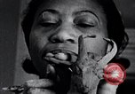 Image of African American artist Augusta Savage United States USA, 1937, second 41 stock footage video 65675032252
