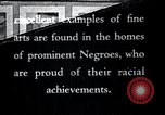 Image of Negro artists United States USA, 1937, second 1 stock footage video 65675032267