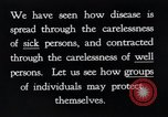 Image of prevention of diseases New York United States USA, 1924, second 2 stock footage video 65675032269