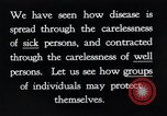 Image of prevention of diseases New York United States USA, 1924, second 12 stock footage video 65675032269