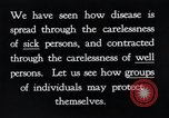 Image of prevention of diseases New York United States USA, 1924, second 22 stock footage video 65675032269