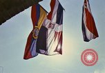 Image of Flags on the Building Washington DC USA, 1974, second 16 stock footage video 65675032278