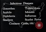 Image of way the disease spreads through US map United States USA, 1922, second 16 stock footage video 65675032294