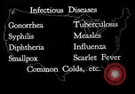 Image of way the disease spreads through US map United States USA, 1922, second 18 stock footage video 65675032294
