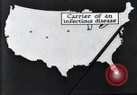Image of way the disease spreads through US map United States USA, 1922, second 26 stock footage video 65675032294