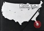 Image of way the disease spreads through US map United States USA, 1922, second 29 stock footage video 65675032294