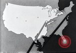 Image of way the disease spreads through US map United States USA, 1922, second 32 stock footage video 65675032294