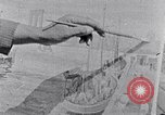 Image of Palmer Hayden painting the Brooklyn bridge New York City USA, 1937, second 20 stock footage video 65675032300