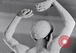 Image of Richmond Barthe sculpture of male and female dancing New York City USA, 1937, second 19 stock footage video 65675032303
