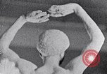 Image of Richmond Barthe sculpture of male and female dancing New York City USA, 1937, second 23 stock footage video 65675032303
