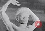 Image of Richmond Barthe sculpture of male and female dancing New York City USA, 1937, second 27 stock footage video 65675032303