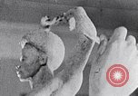 Image of Richmond Barthe sculpture of male and female dancing New York City USA, 1937, second 33 stock footage video 65675032303