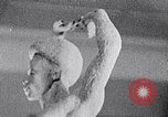 Image of Richmond Barthe sculpture of male and female dancing New York City USA, 1937, second 53 stock footage video 65675032303