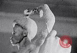 Image of Richmond Barthe sculpture of male and female dancing New York City USA, 1937, second 54 stock footage video 65675032303