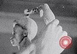 Image of Richmond Barthe sculpture of male and female dancing New York City USA, 1937, second 59 stock footage video 65675032303