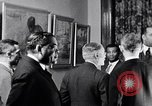 Image of Afro-Cuban painter Pastor Argudin y Pedroso exhibition New York City USA, 1937, second 14 stock footage video 65675032315