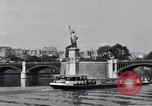 Image of Statue of Liberty France, 1956, second 27 stock footage video 65675032324