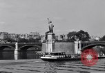 Image of Statue of Liberty France, 1956, second 28 stock footage video 65675032324
