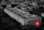 Image of Building of dept of agriculture and commerce White House Capitol Washington DC USA, 1939, second 52 stock footage video 65675032326