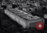Image of Building of dept of agriculture and commerce White House Capitol Washington DC USA, 1939, second 58 stock footage video 65675032326
