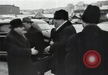 Image of Romanian delegation in Moscow Moscow Russia Soviet Union, 1948, second 21 stock footage video 65675032337