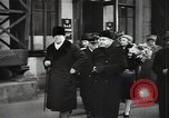 Image of Romanian delegation in Moscow Moscow Russia Soviet Union, 1948, second 52 stock footage video 65675032337