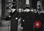 Image of Romanian delegation in Moscow Moscow Russia Soviet Union, 1948, second 53 stock footage video 65675032337