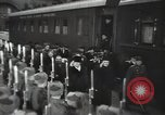 Image of Romanian delegation in Moscow Moscow Russia Soviet Union, 1948, second 56 stock footage video 65675032337