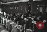 Image of Romanian delegation in Moscow Moscow Russia Soviet Union, 1948, second 58 stock footage video 65675032337