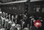 Image of Romanian delegation in Moscow Moscow Russia Soviet Union, 1948, second 60 stock footage video 65675032337