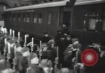 Image of Romanian delegation in Moscow Moscow Russia Soviet Union, 1948, second 61 stock footage video 65675032337