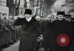 Image of Romanian delegation in Moscow Moscow Russia Soviet Union, 1948, second 62 stock footage video 65675032337