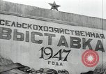 Image of fruits and vegetables exhibition Kolomna Russia, 1947, second 2 stock footage video 65675032347