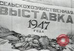 Image of fruits and vegetables exhibition Kolomna Russia, 1947, second 3 stock footage video 65675032347