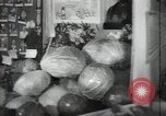 Image of fruits and vegetables exhibition Kolomna Russia, 1947, second 15 stock footage video 65675032347