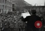 Image of Bulgarian citizens signing letter of appreciation Sofia Bulgaria, 1947, second 6 stock footage video 65675032349