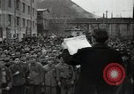 Image of Bulgarian citizens signing letter of appreciation Sofia Bulgaria, 1947, second 7 stock footage video 65675032349