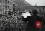 Image of Bulgarian citizens signing letter of appreciation Sofia Bulgaria, 1947, second 9 stock footage video 65675032349
