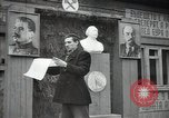 Image of Bulgarian citizens signing letter of appreciation Sofia Bulgaria, 1947, second 17 stock footage video 65675032349